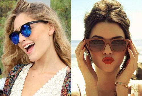Pericolul purtarii unor ochelari de soare alesi la intamplare…